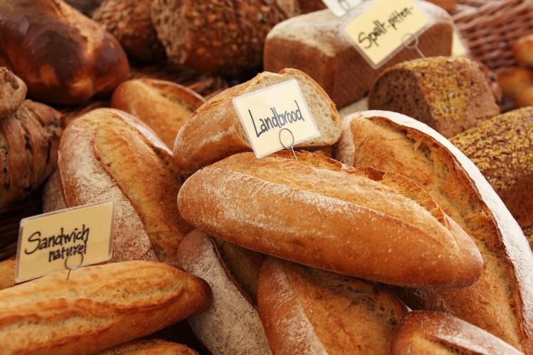 パンと靴下